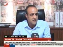 Bursa'da Depreme Dayanıklı Olmadığı için Yıkım Kararı Verilen 13 Okul Yeni Bir Kaos Yarattı.