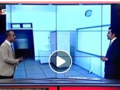 Şube Başkanımız Özkan Rona As TV Ana Haber Bültenine Katıldı.